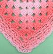 Simple Rectangular Granny Blanket