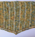 Simple Lace Isosceles Shawl or Scarf