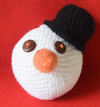 Snowdude Stress Ball or Ornament