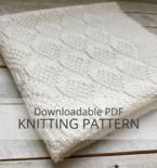 ROWE Baby Blanket Knitting Pattern