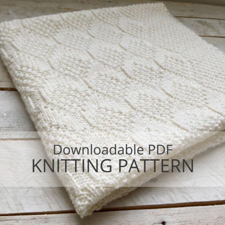 Rowe Baby Blanket Knitting Pattern Kniterations Craftfoxes