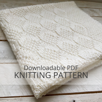 ROWE Baby Blanket Knitting Pattern