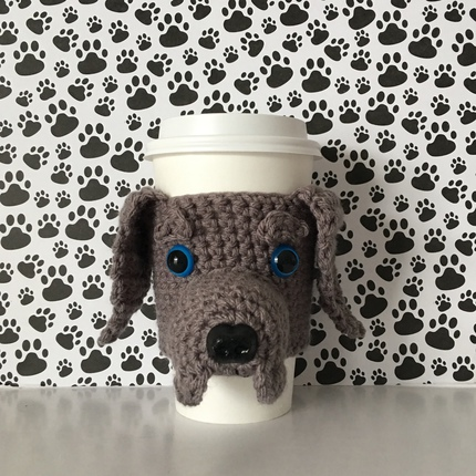 Weimaraner Mug Cozy
