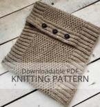 WRECKHOUSE Honeycomb Brioche Cowl Knitting Pattern