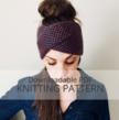 WRECKHOUSE Honeycomb Brioche Stitch Headband Knitting Pattern