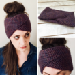 WRECKHOUSE Honeycomb Brioche Stitch Headband Knitting Pattern