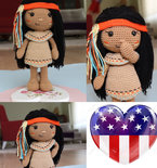 Venona Native American Girl
