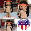 Venona Native American Girl