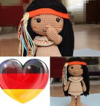 Venona Native American Girl - German