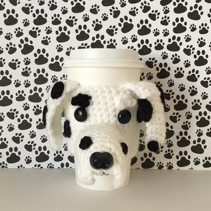 Dalmatian Mug Cozy