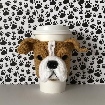 Bulldog Mug Cozy
