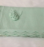 Baby blanket pattern ( machine knitting)