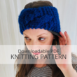 DAYA headband knitting pattern
