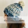 INTERCOASTAL hat knitting pattern