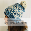 INTERCOASTAL hat knitting pattern