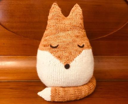 Felix The Fox Knitting Pattern