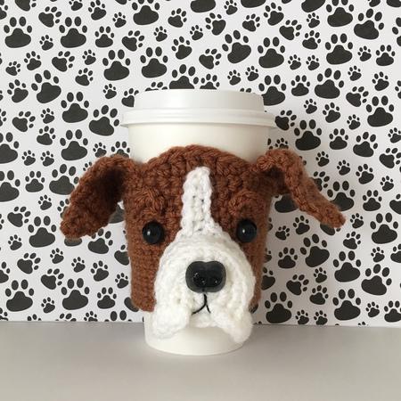 Boxer Puppy Crochet Pattern Hookedbyangels Shop Craftfoxes
