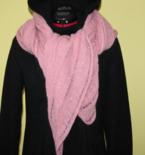 MACHINE KNITTING pattern PDF woman scarf