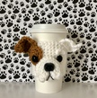 Bulldog Puppy Mug Cozy Pattern