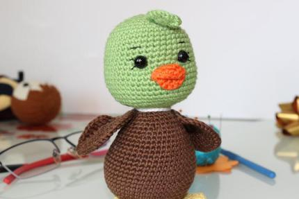 Green Duck Grucky PDF Pattern