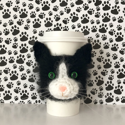 Tuxedo Cat Cozy