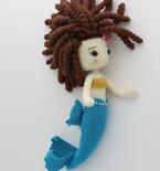 GLITTERMAID Mermaid Amigurumi Doll