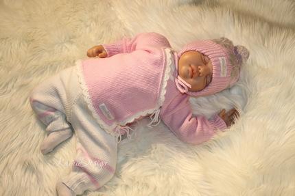 MACHINE KNITTING pattern baby knitted set