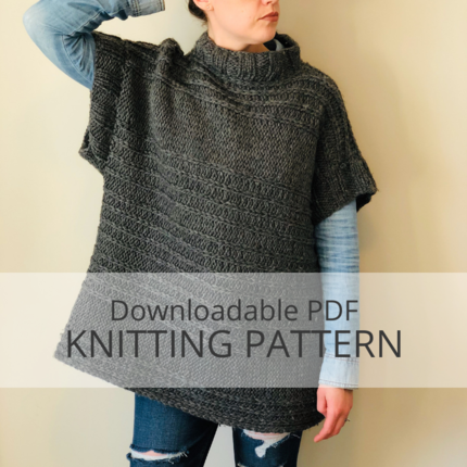 HAPPY ACCIDENT Pullover Knitting Pattern