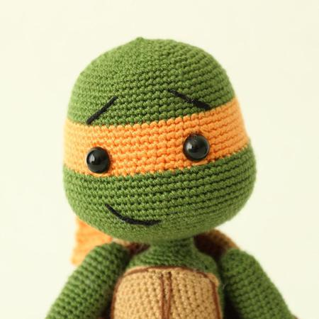 Teenage Mutant Ninja Turtles Amigurumi Crochet Pattern ... | 450x450