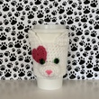 Cat Heart Cup Cozy