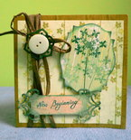 Scrapbook Greeting Card