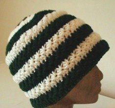Crochet Star Stitch Hat Pattern