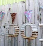 Create Your Own Backyard Bunting