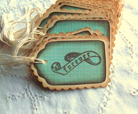Teal Forever Banner Tags