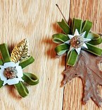 Easy Fall Craft: Leaf Boutonnieres
