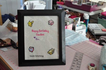 Pokemon Cross Stitch