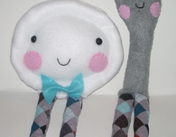 The 'Dish Ran Away With the Spoon' Plushies