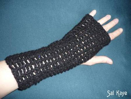 Crocheted Armwarmers
