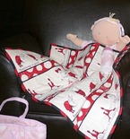 Olivia the Pig Doll Quilt