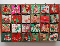Advent Calendar with Coca-Cola Crate