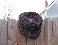 Faux Fur Infinity Scarf (Easy to Make)