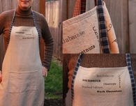 Personalized Aprons with Iron-On Transfer Food Design
