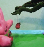 Easter Peep Diorama inspired by 'The Giving Tree'