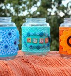 Upcycle Pickle Jars into Supply Jars