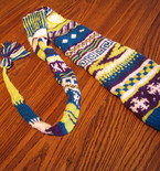Super Long and Funky Stocking Cap