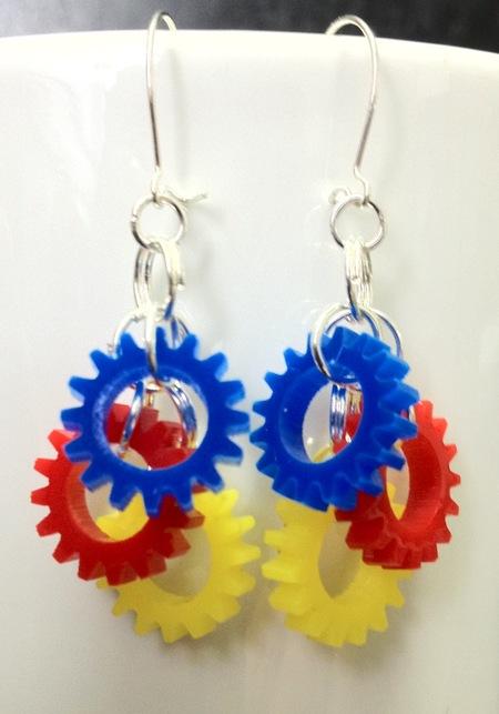 Imagination Movers 'Gearrings' Earrings