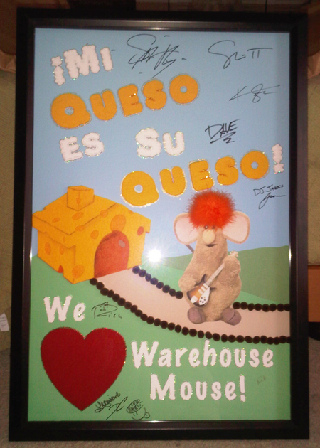Imagination Movers Concert Cheese Art Poster