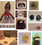 Sloth Toy Doll, Glove, Pins, Cufflinks and More