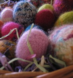 Felted Easter Eggs