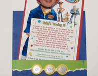 Imagination Movers 'Bobble-head Birthday Invitations'